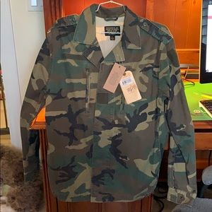 Alpha Industries F-2 French Field Coat Wood Camo